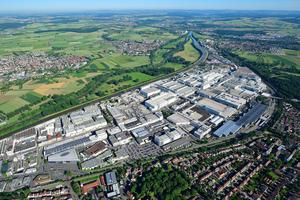 Luftaufnahme Audi-Standort Neckarsulm