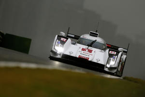 Audi in positions five and six in qualifying in China