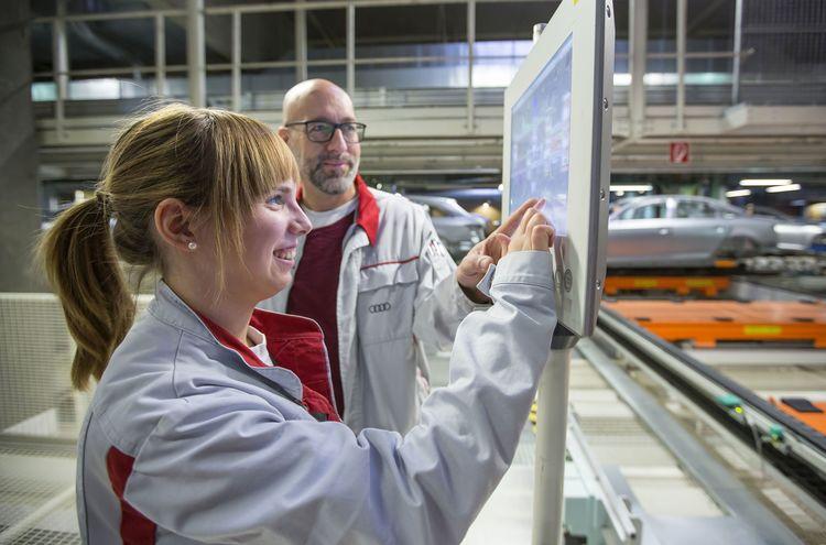 Audi-Ausbildung 2018: Immer stärker im Fokus stehen Digitalisierung und Elektromobilität