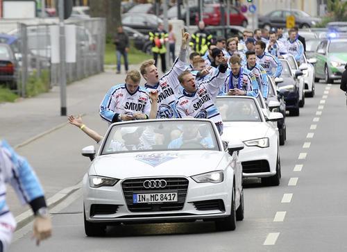Audi-Meisterkorso des ERC Ingolstadt