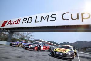 Audi R8 LMS Cup 2014 stark besetzt