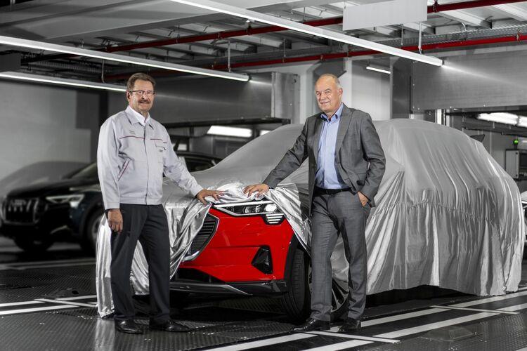 Produktionsstart für Audi e-tron