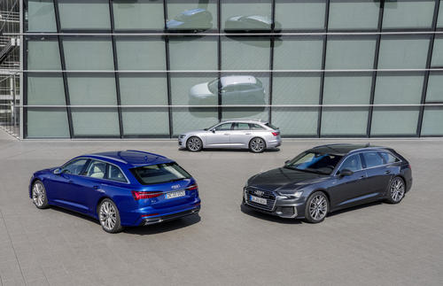 Practical Beautiful Sporty The New Audi A6 Avant Audi Mediacenter
