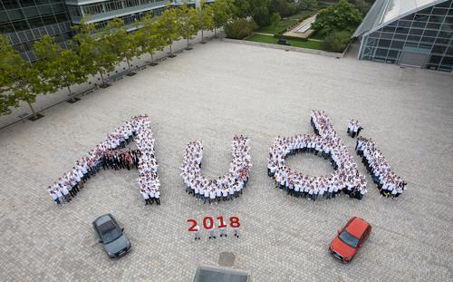 Audi begrüßt neue Azubis in Ingolstadt