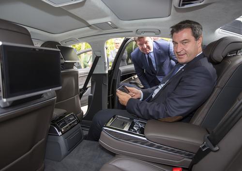 Neuer Audi-Dienstwagen für den  Bayerischen Ministerpräsidenten