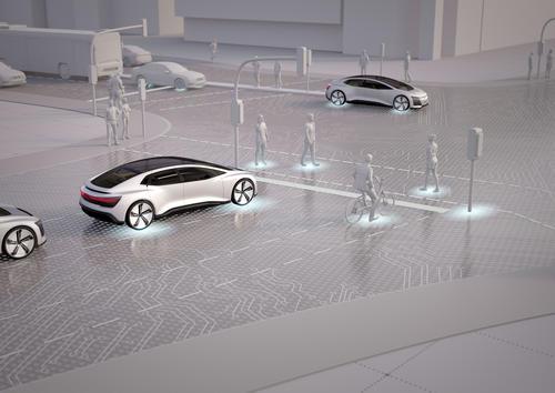 """Audi-Studie """"25. Stunde – Flow"""": Kein Stau in der Stadt der Zukunft (Testfeld Ingolstadt)"""