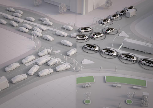 "Audi study ""25th Hour – Flow"": No Congestion in the City of the Future (Example City Ingolstadt)"