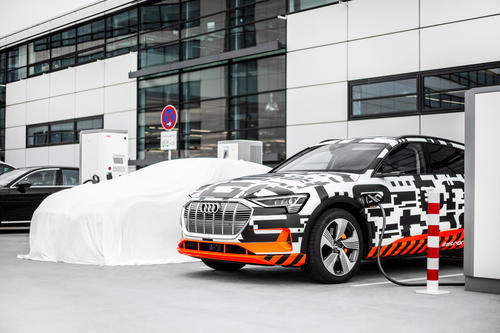 Mobility without boundaries: Audi e-tron Charging Service