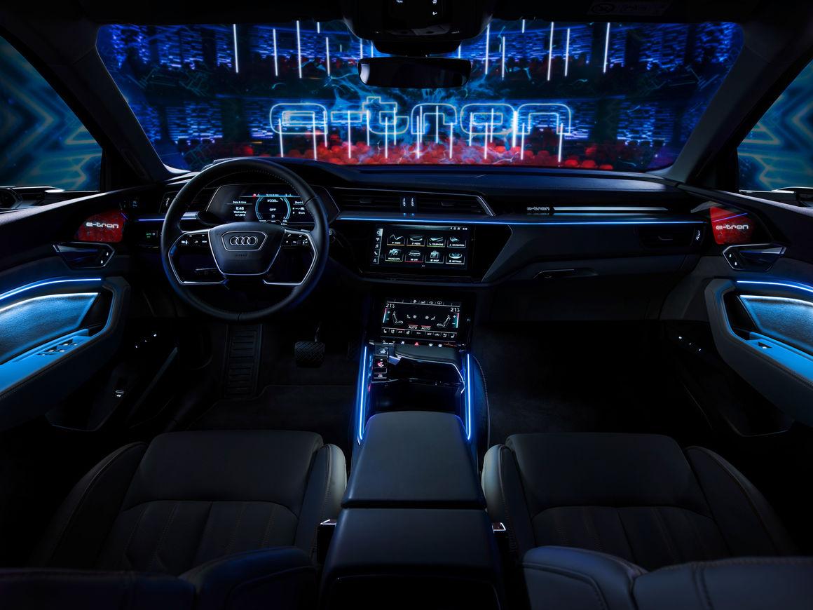 Der e-tron als Startsignal: Audi beginnt E-Offensive