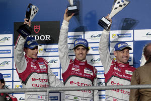 Audi achieves second place at Spa