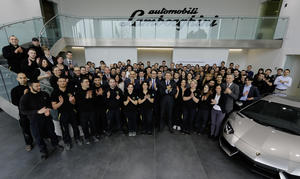 "Audi subsidiary Lamborghini is the ""Employer of Choice"""