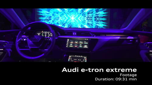 AUDI e-tron extrem - Footage
