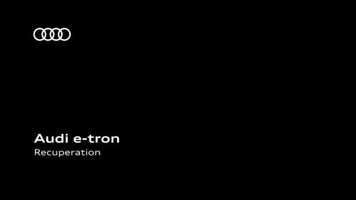 AUDI e-tron - Recuperation
