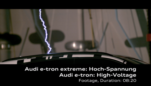 AUDI e-tron extreme: High-Voltage Footage