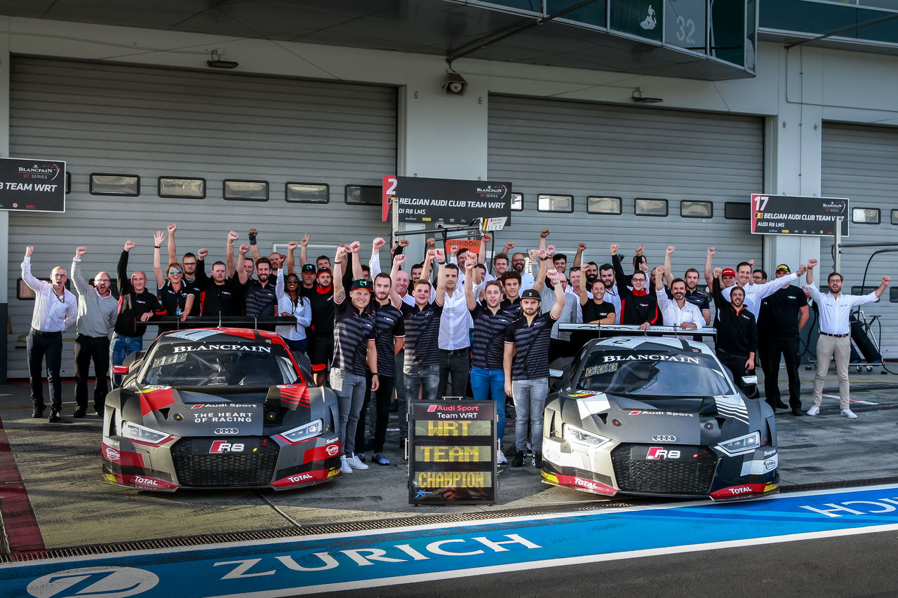 Nine titles for Audi Sport customers in Europe and Asia