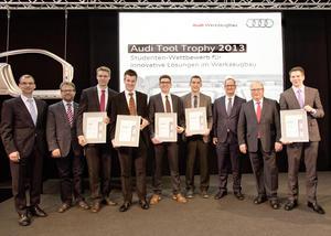 Audi Tool Trophy für Nachwuchsforscher