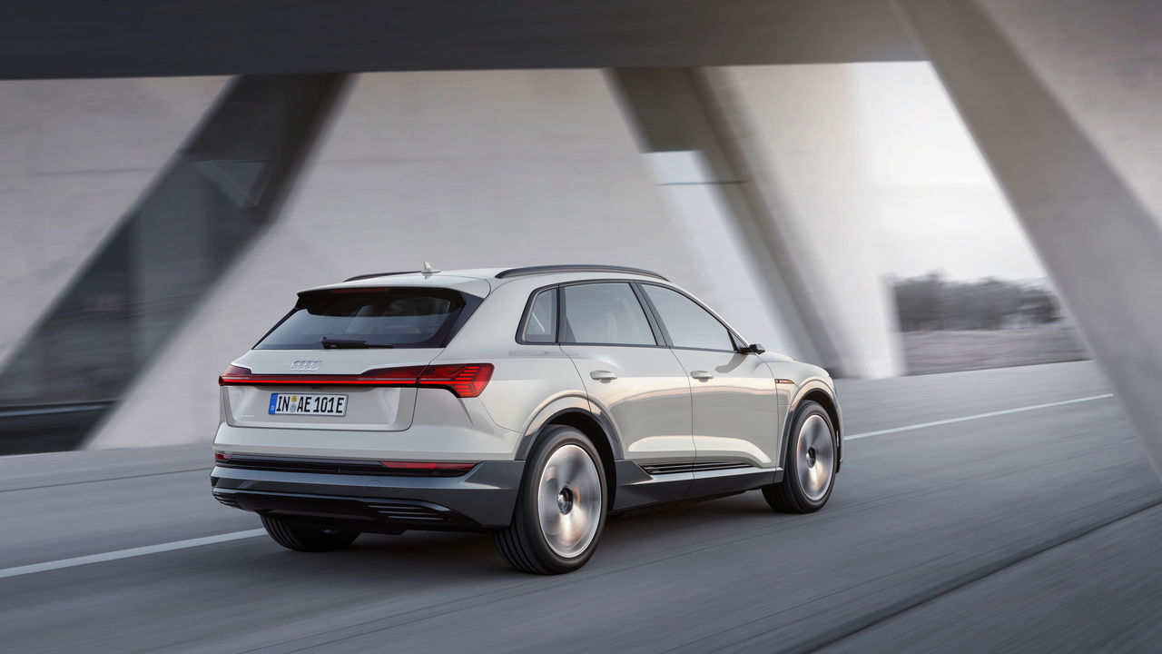 The e-tron as starting signal: ||Audi launches e-offensive