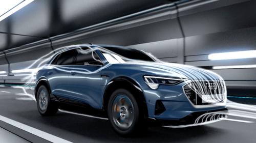 Audi e-tron – aerodynamic