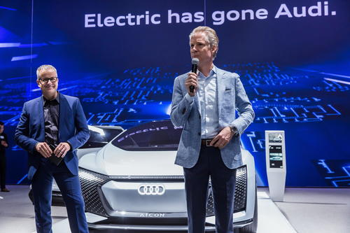 The Charge – Weltpremiere des Audi e-tron