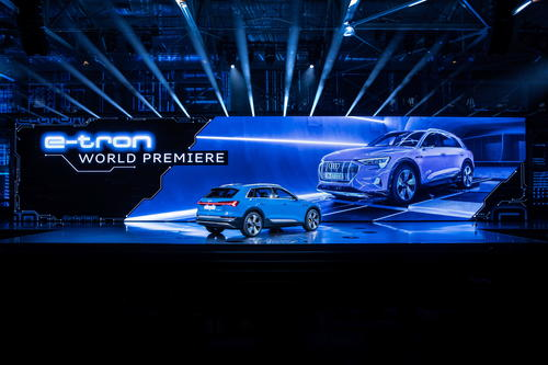 The Charge – world premiere of the Audi e-tron