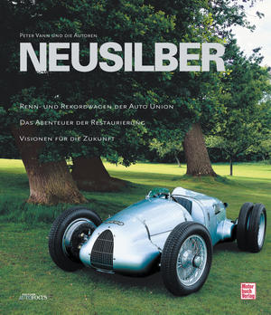 "The book ""Auto Union GP. Race and Record Cars"", with photos by Peter Vann and text by Prof. Peter Kirchberg, Malte Jürgens, Wolfgang König, Max Nötzli, Mike Riedner and Herbert Völker, has 168 pages and is published by Motorbuch Verlag, Stuttgart"