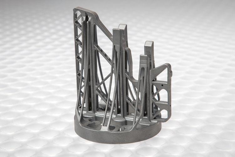 Metall-3D-Druck bei Audi