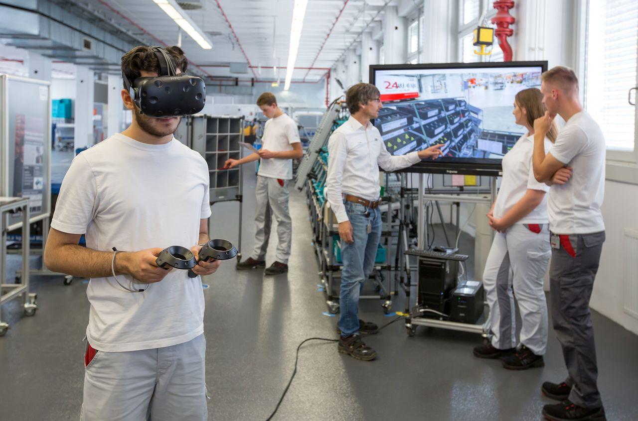 Audi uses modular solution for virtual-reality training