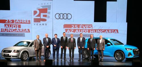 Audi celebrates 25-year success story in Hungary