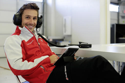 Audi driver Filipe Albuquerque in eager anticipation of WEC