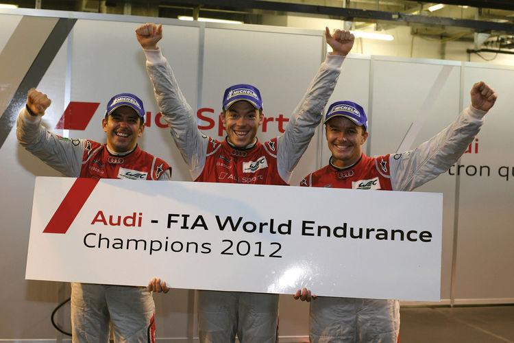 Audi stellt die WEC-Weltmeister 2012