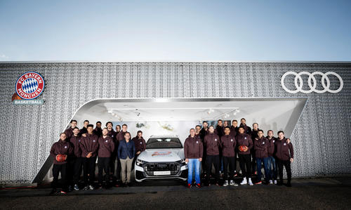 New Audi models for FC Bayern Basketball