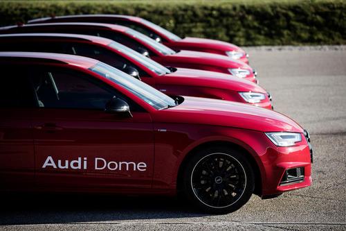 New Audi models for FC Bayern Basketball