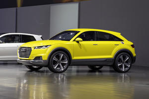 Audi bei der Volkswagen Group Night – Peking Motor Show 2014