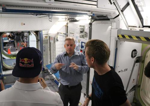 Andreas Bakkerud @ NASA