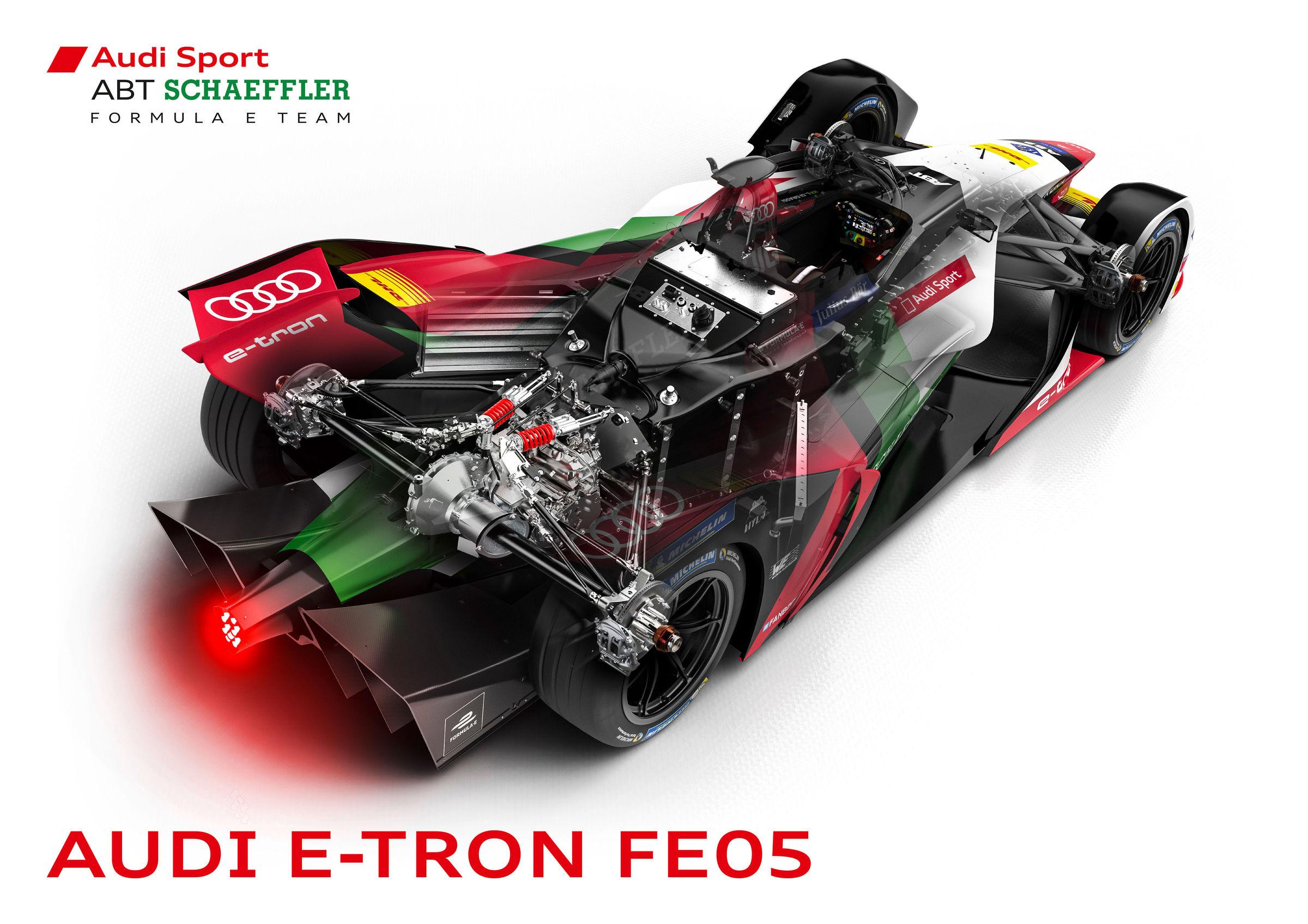 Audi e-tron FE05