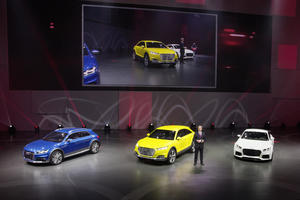 Audi at the Volkswagen Group Night – 2014 Beijing Motor Show