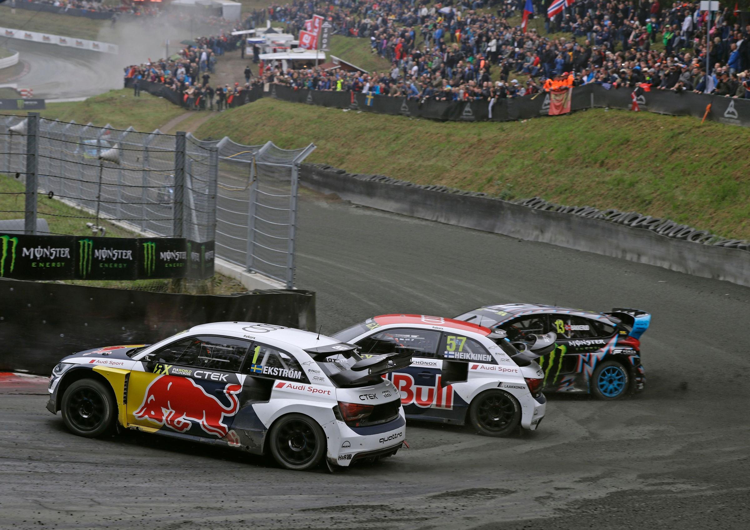 Ekstrom i pole position i tyskland