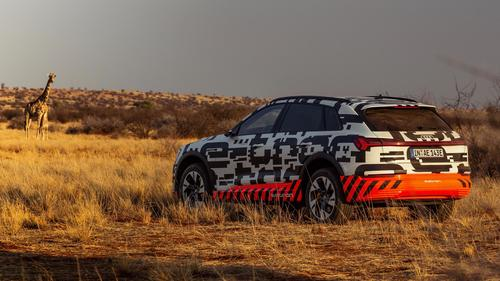 Video: Power play: The Audi e-tron prototype in Namibia