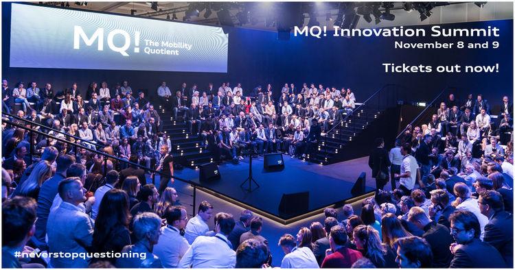 Audi holt Vordenker zum MQ! Innovation Summit