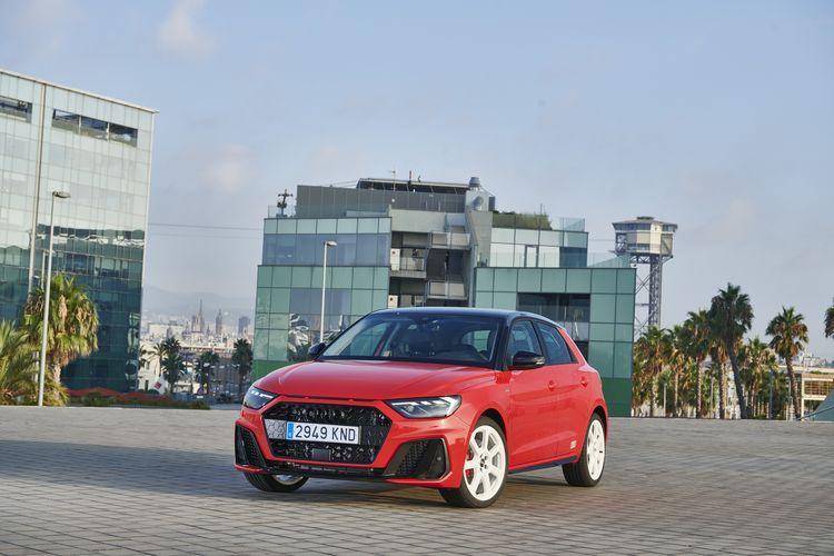 Audi A1 Sportback in Barcelona, Port Vell