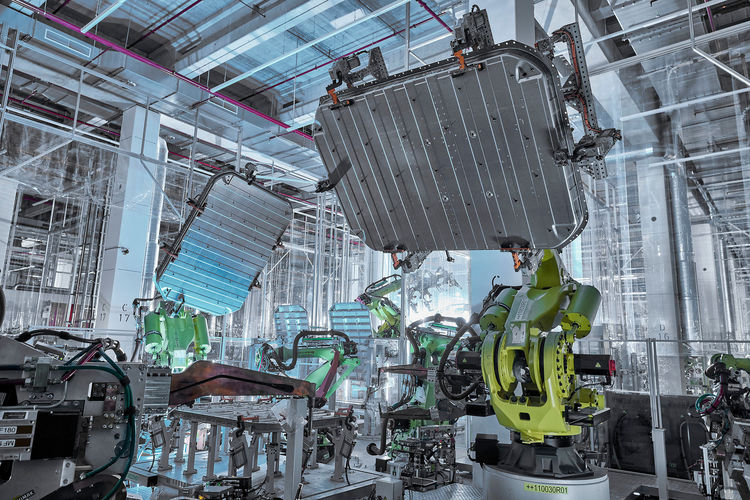 Nachhaltiges Aluminium für Batteriegehäuse im Audi e-tron