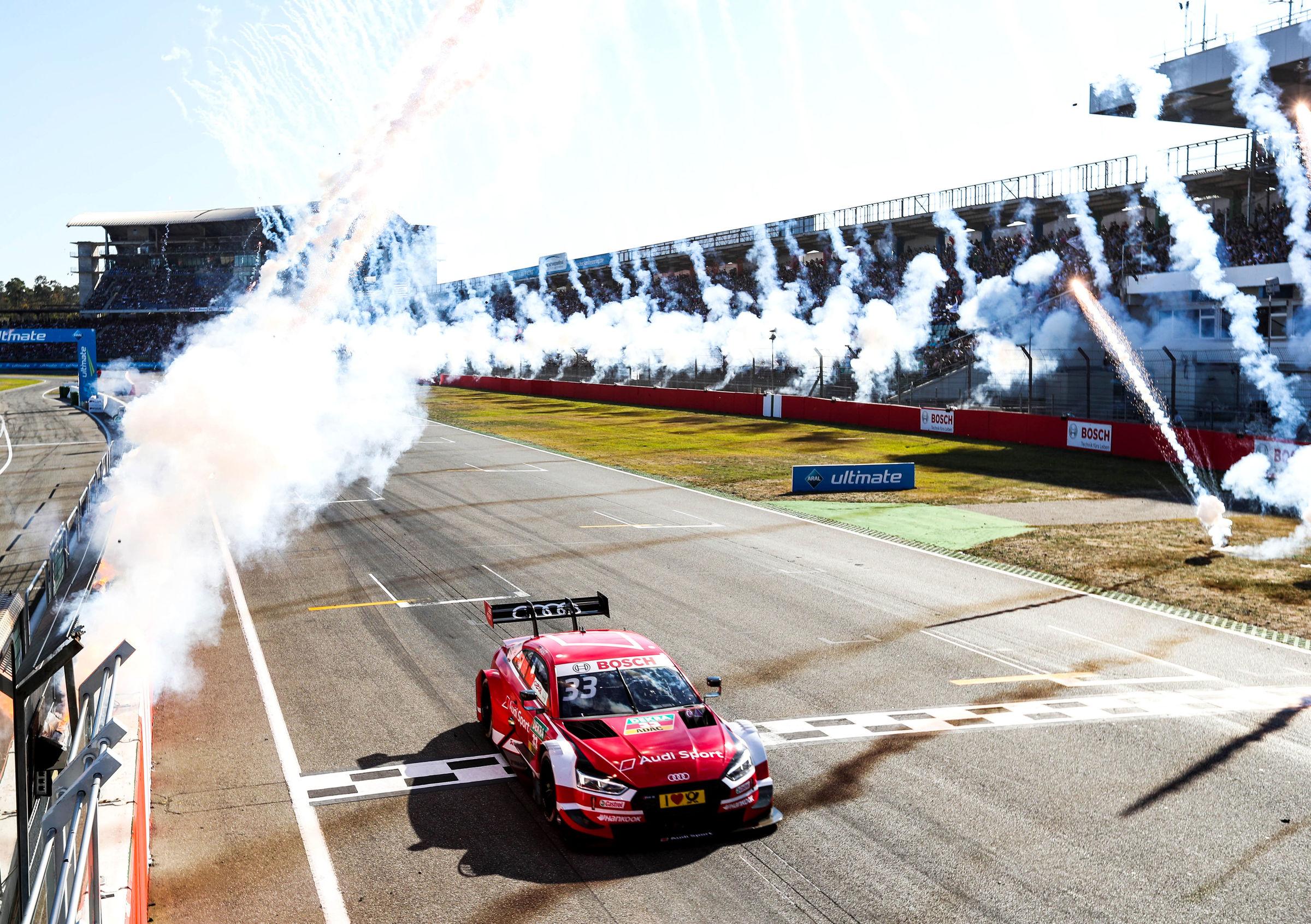 Sixpack Audi Pilot Rast gewinnt auch DTM Finale