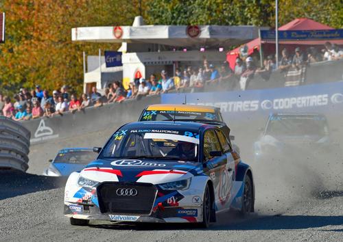 Rallycross-EM 2018, Estering