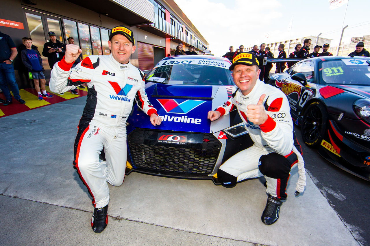 Titles for Audi Sport in Australia, France, New Zealand and in the United States