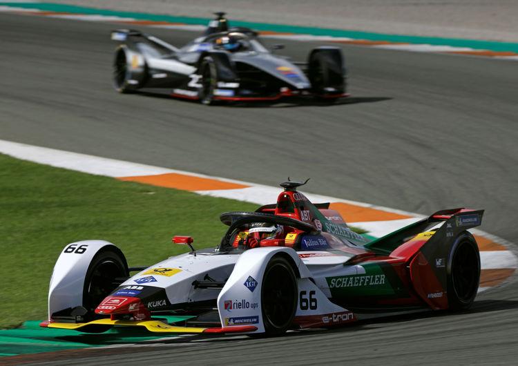 Formula E test, Valencia