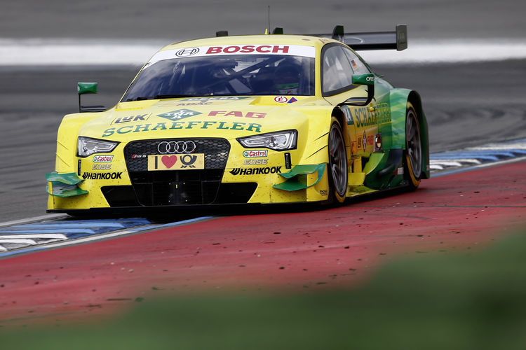 DTM tests at Hockenheim
