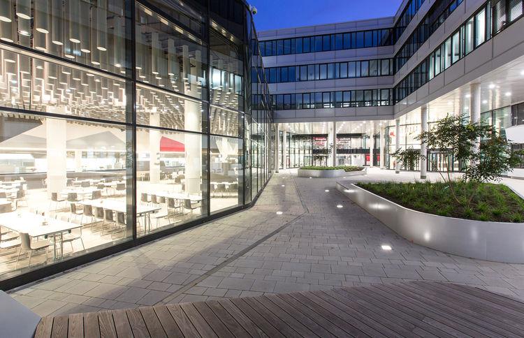 Die neue Heimat von Vertrieb und Marketing der AUDI AG: