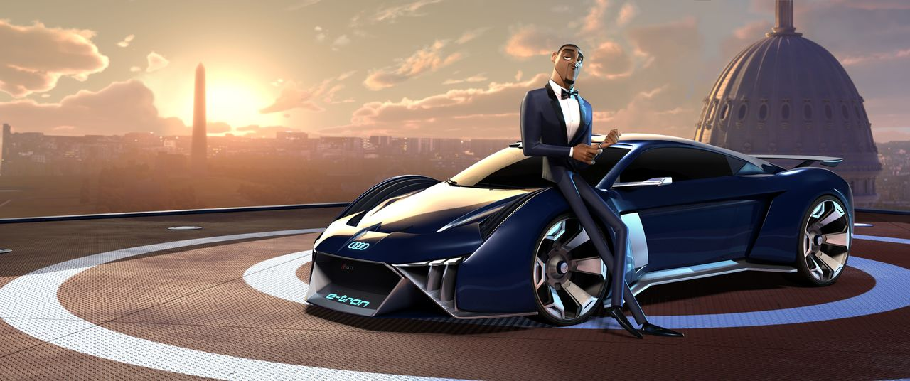 """Audi designs first virtual concept car for Hollywood movie """"Spies in Disguise"""""""