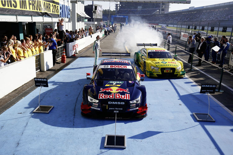 Audi is best manufacturer in 2014 DTM