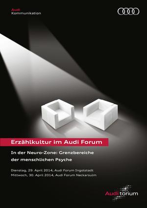 """Audi.torium """"In der Neuro-Zone"""": Grenzbereiche der menschlichen Psyche"""